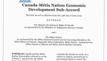 canada metis nation economic