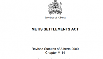 metis settlement act
